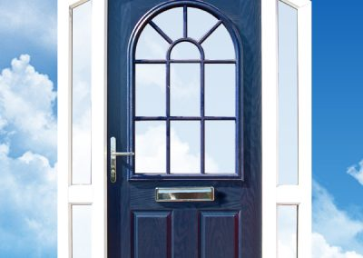 Part Arched Door