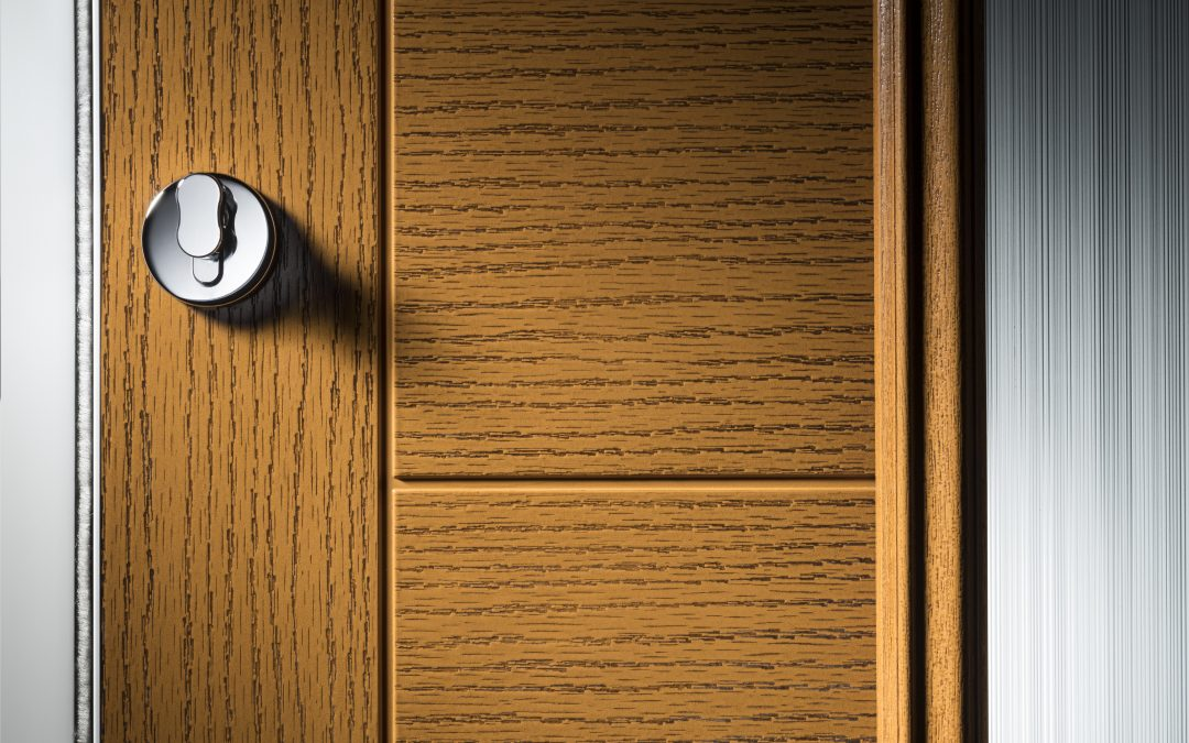 Wood Grain Effect Texture That Features on our Doors
