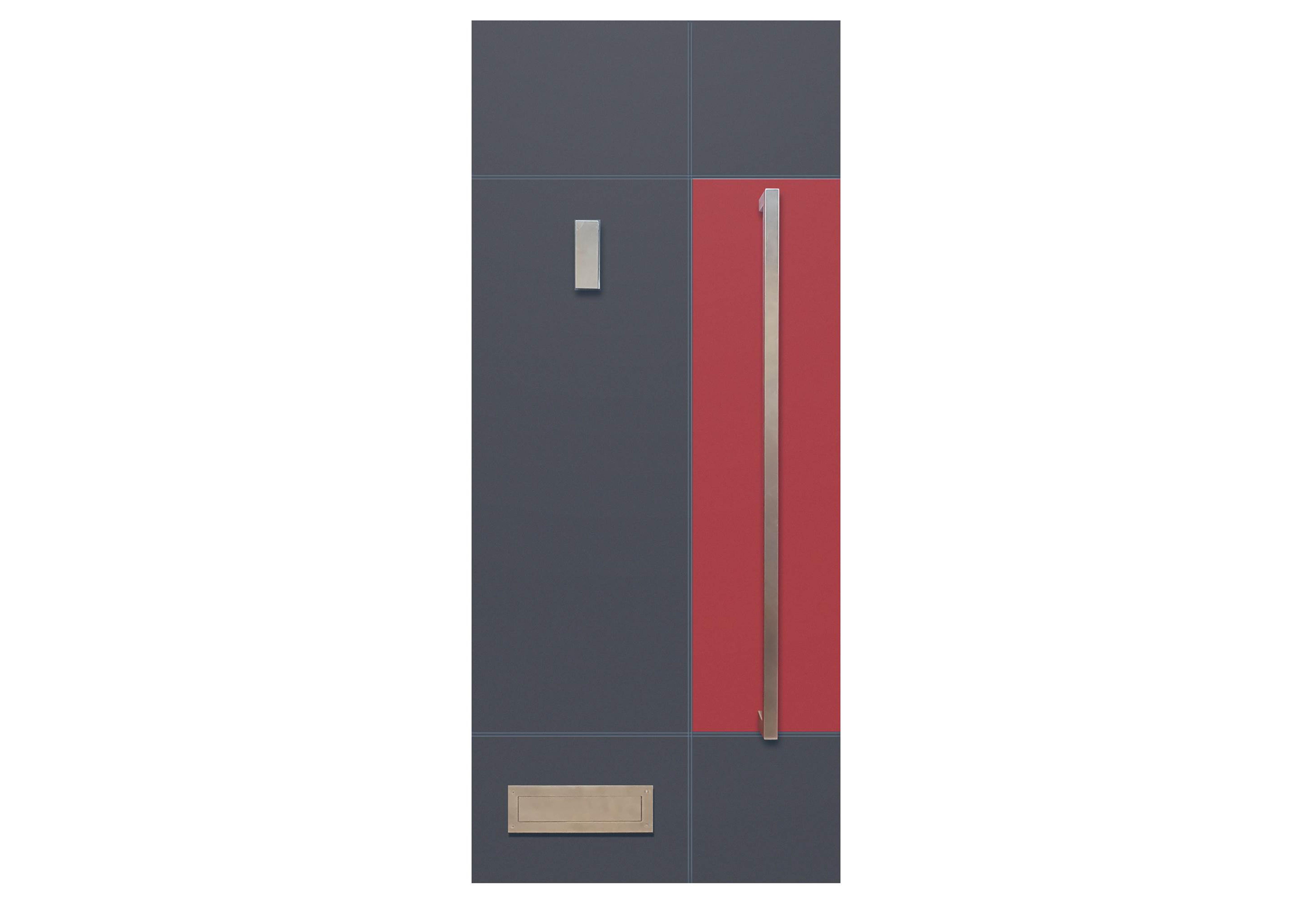 Two Tone Colour Decadence Door
