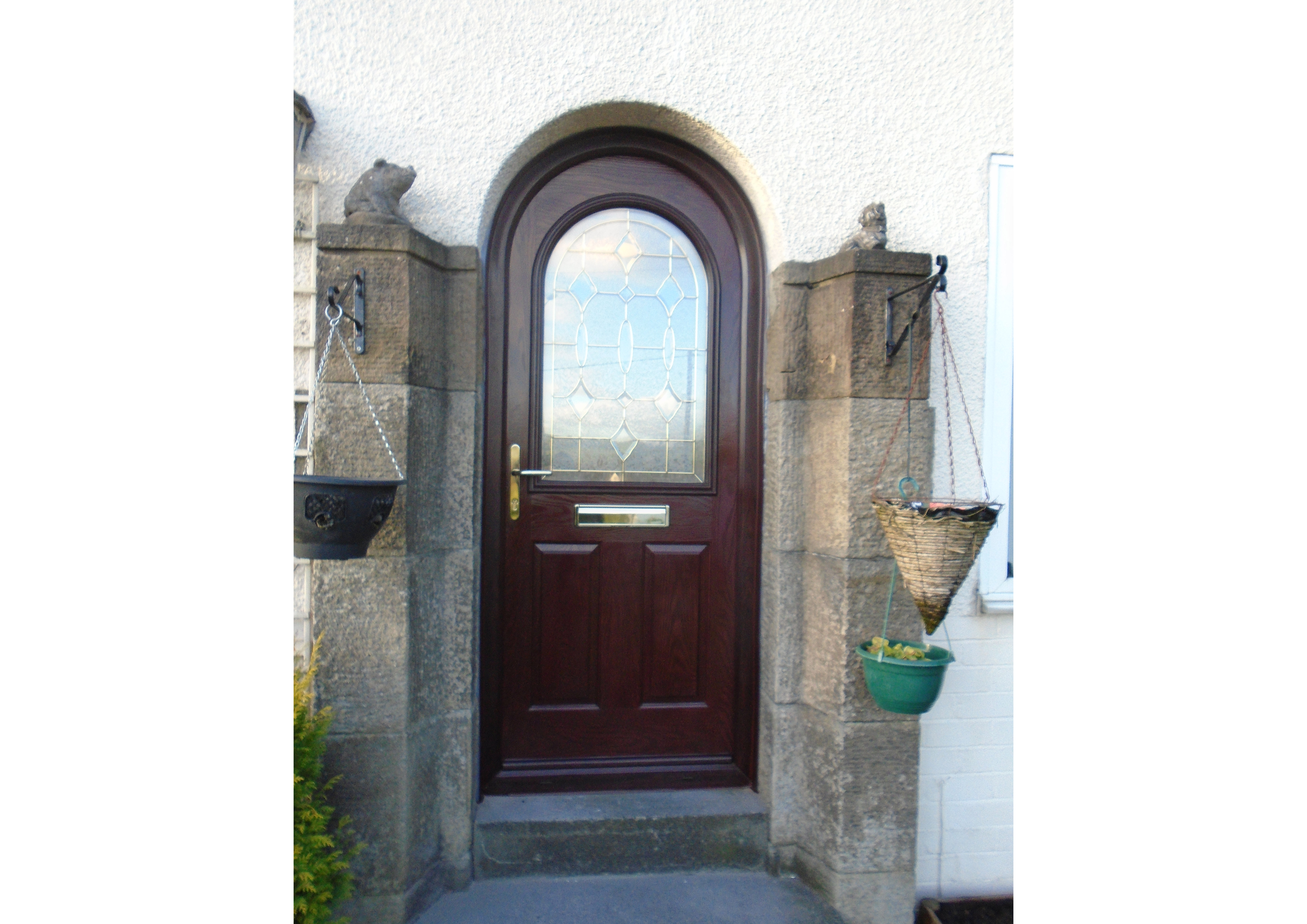 Arched Strand Traditional Door