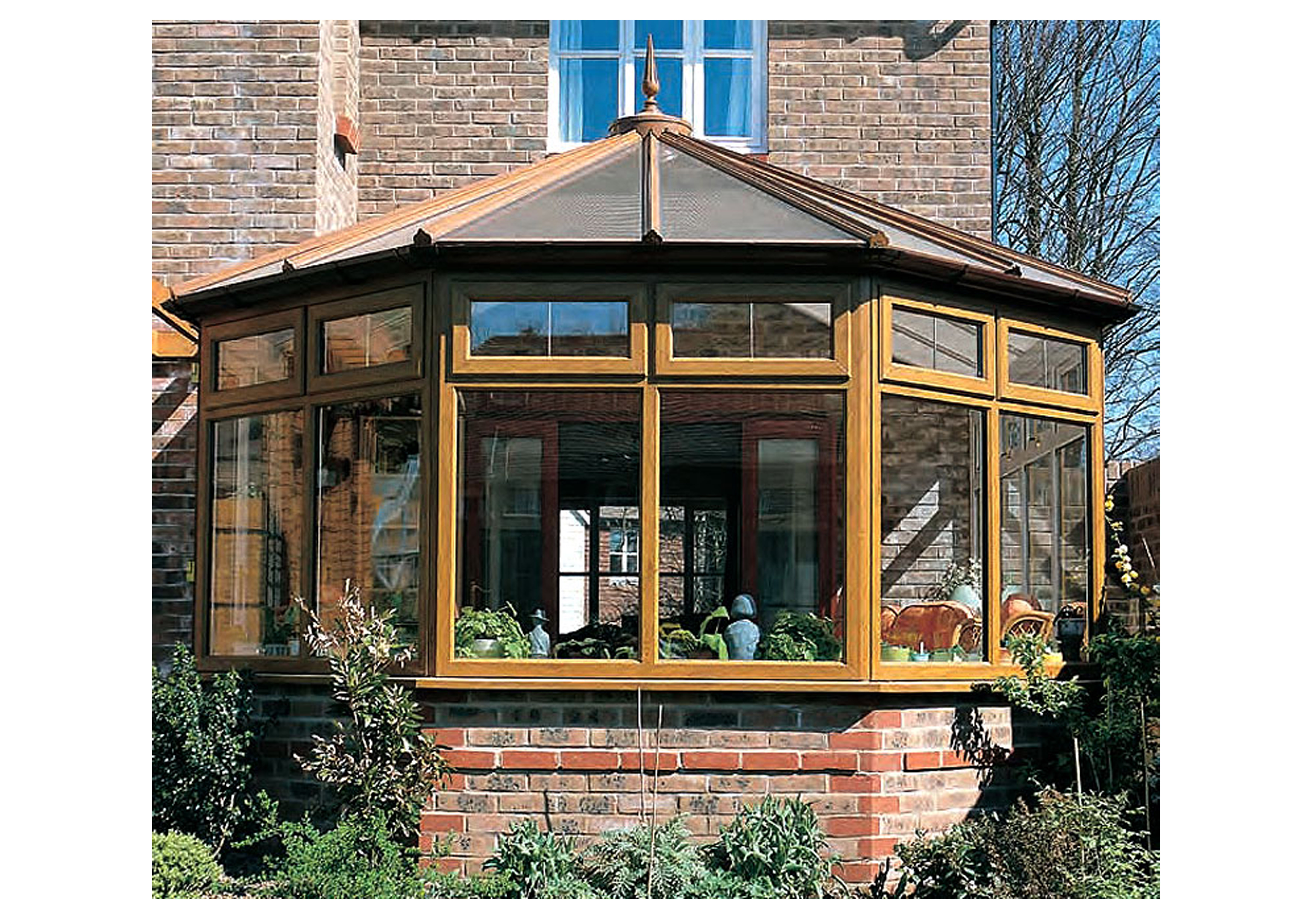Conservatories and Orangeries available from Force 8