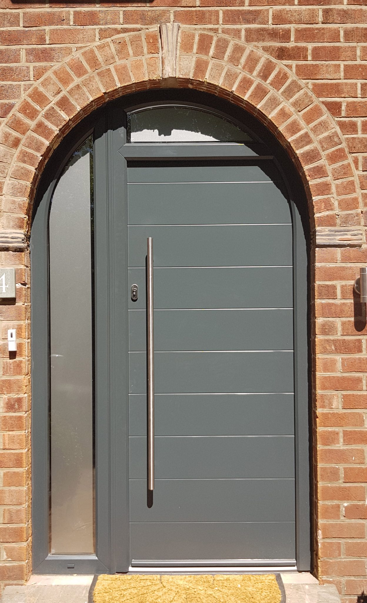 Arched Composite Doors, Part Arched Doors - Force 8 Cheshire ...