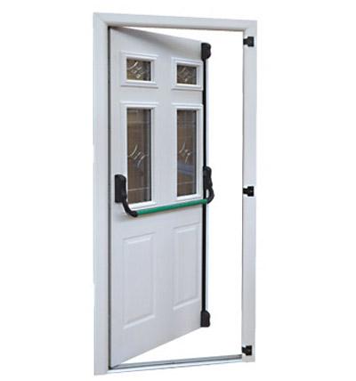 emergency exit/panic doors