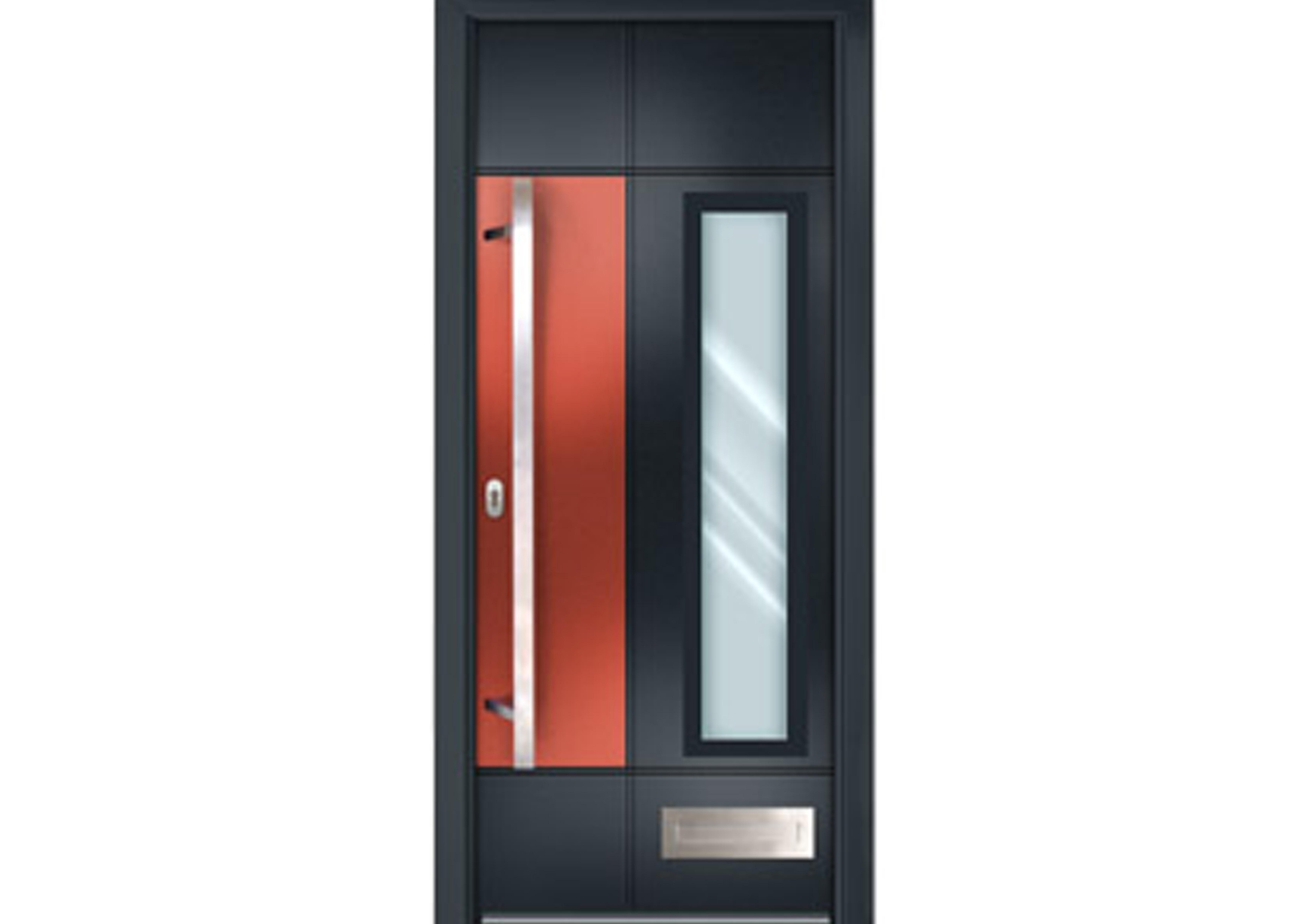 Shade Of Grey – Aluminium Appearance Doors