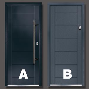 Composite vs Aluminium Doors