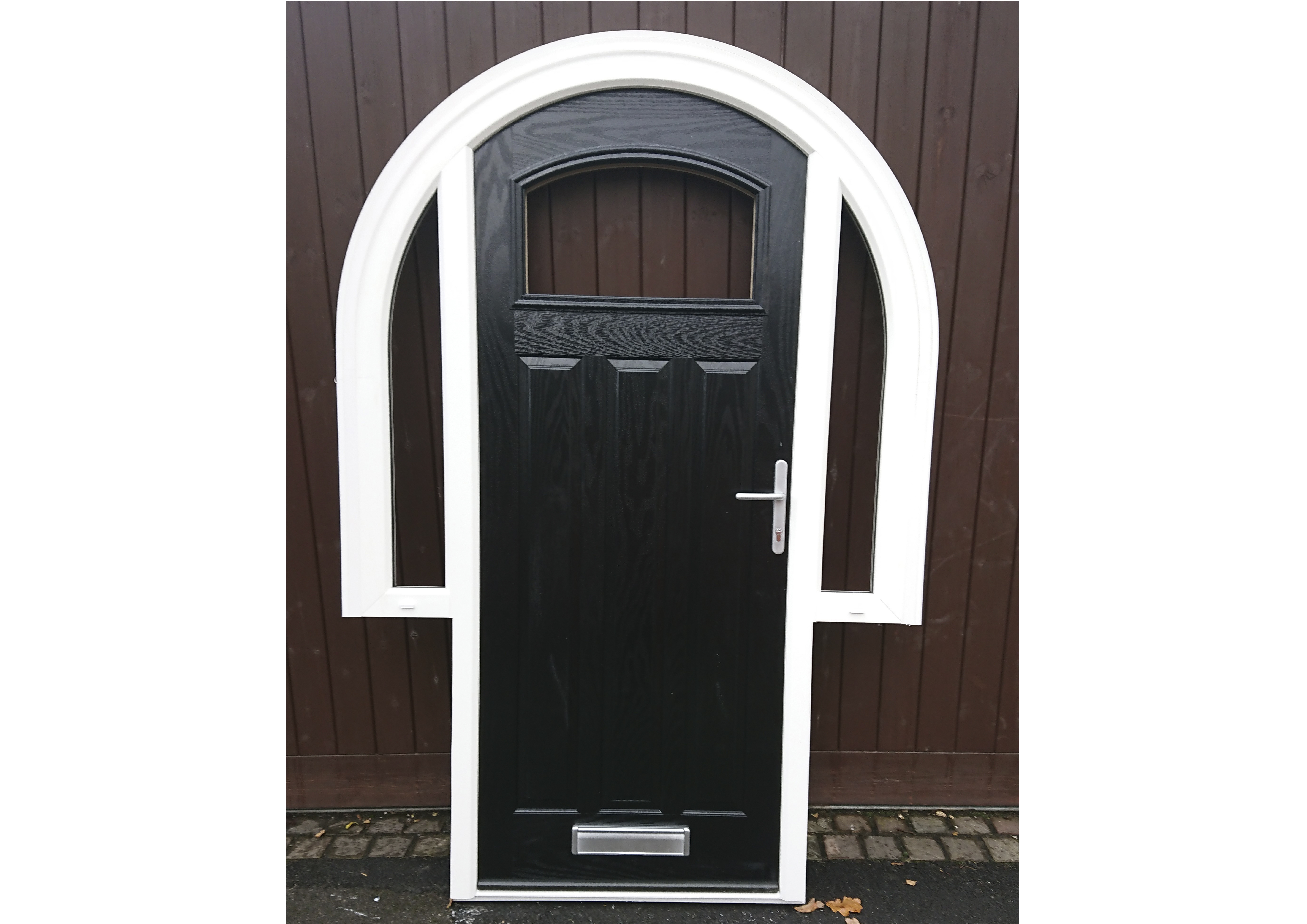 High Quality PVCU Arched Frames