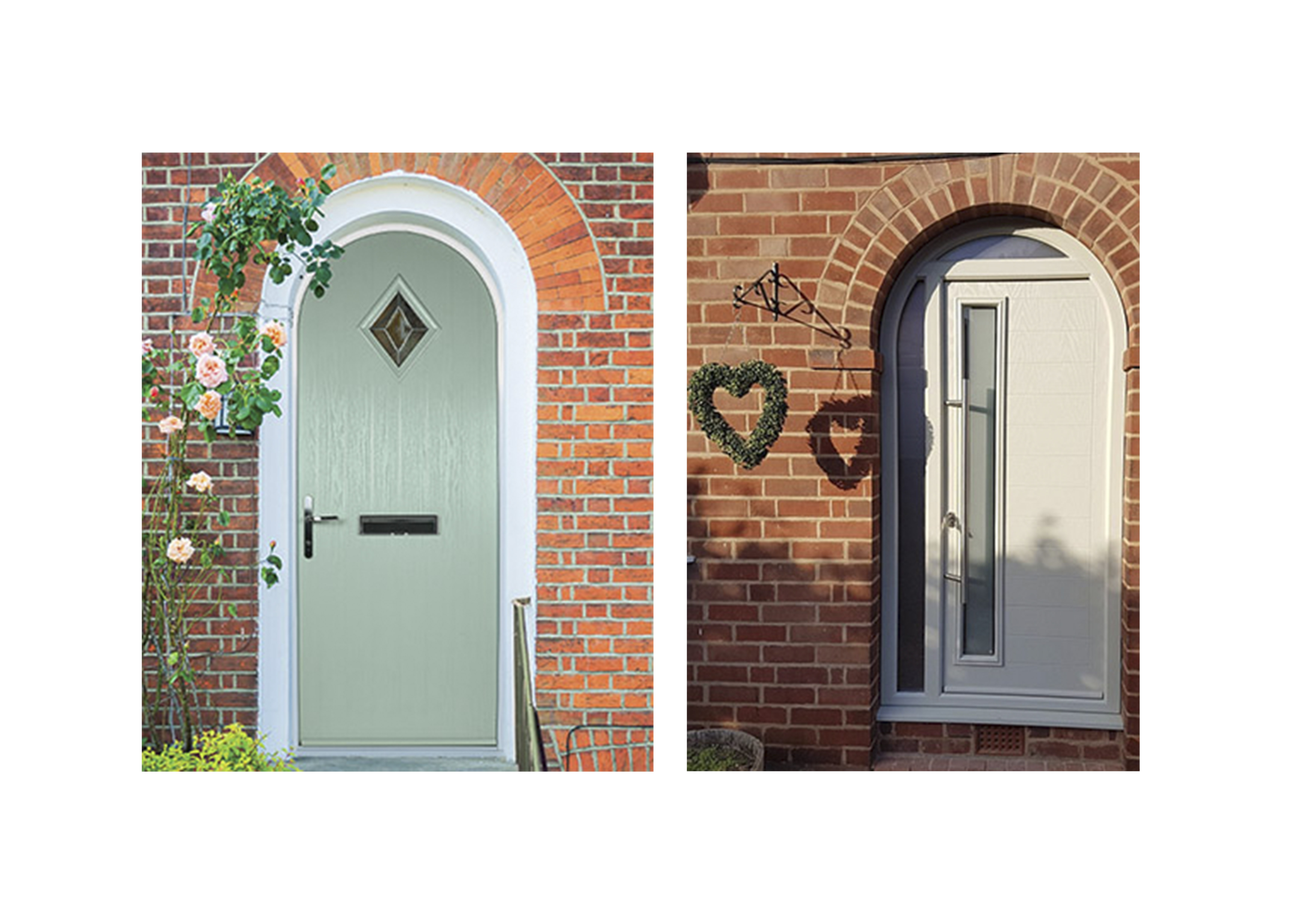 Arched Contemporary Doors vs Arched Traditional Doors