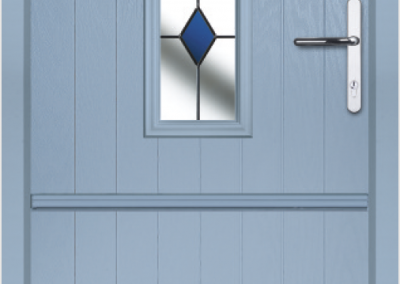 Blue Stable Door