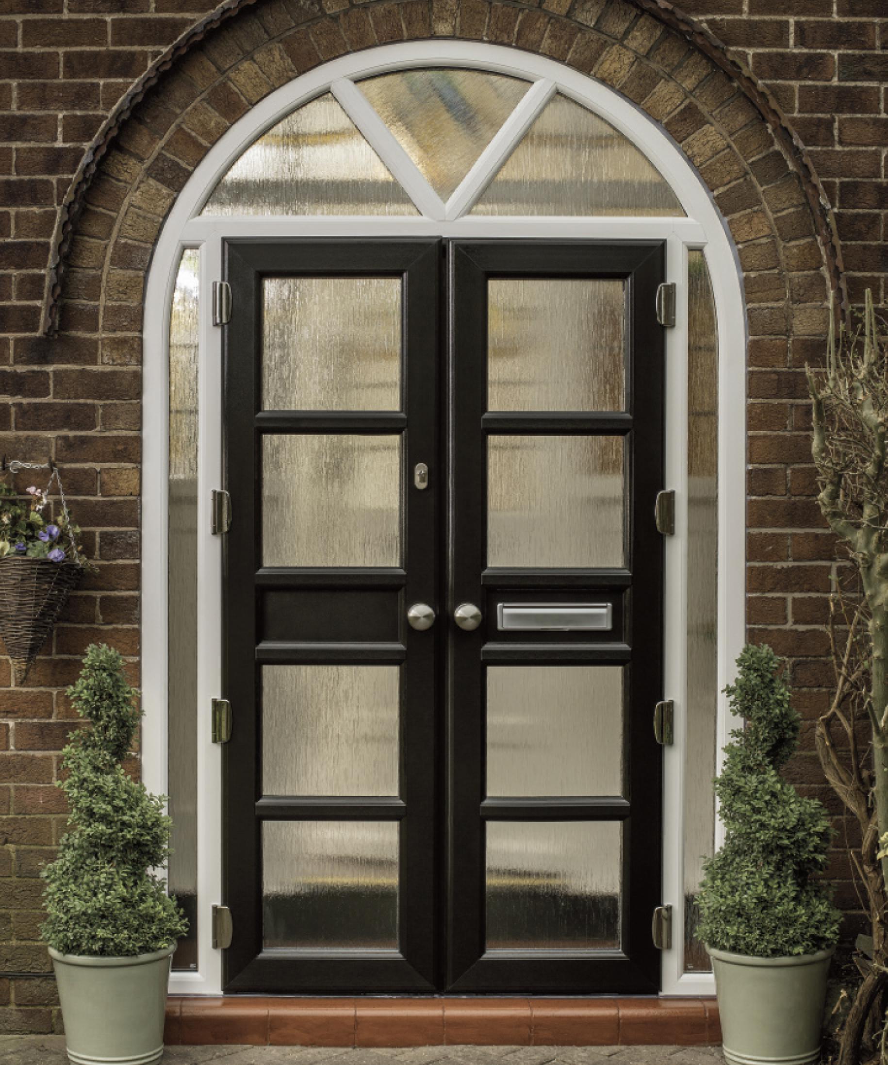 Composite Doors, Arched Frames