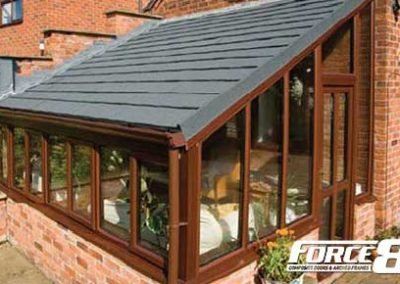Force 8 lighweight replacement conservatory roofs