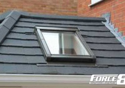 Force 8 lightweight replacement conservatory roofs with window