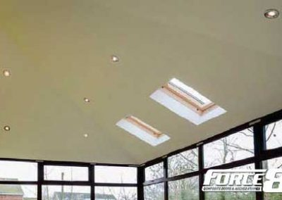 Force 8 lightweight replacement conservatory roofs