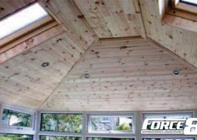 Force 8 lightweight replacment conservatory roofs