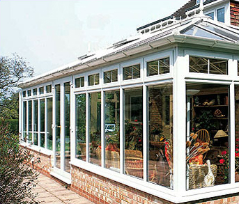 conservatories, orangeries, and roof systems uPVC traditional white