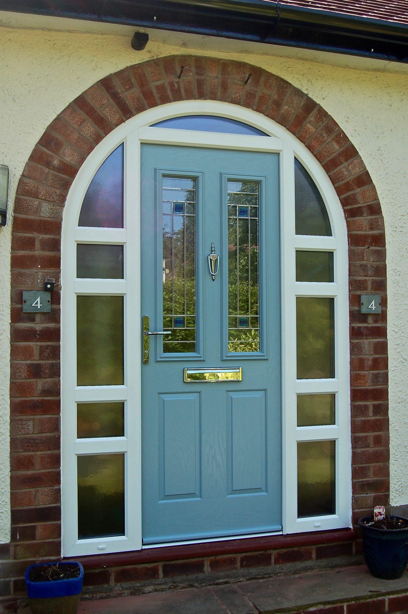 Arched Frames Composite Door Oxford Door Force 8