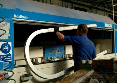 Trade Fabrication and UPVC Profile bending