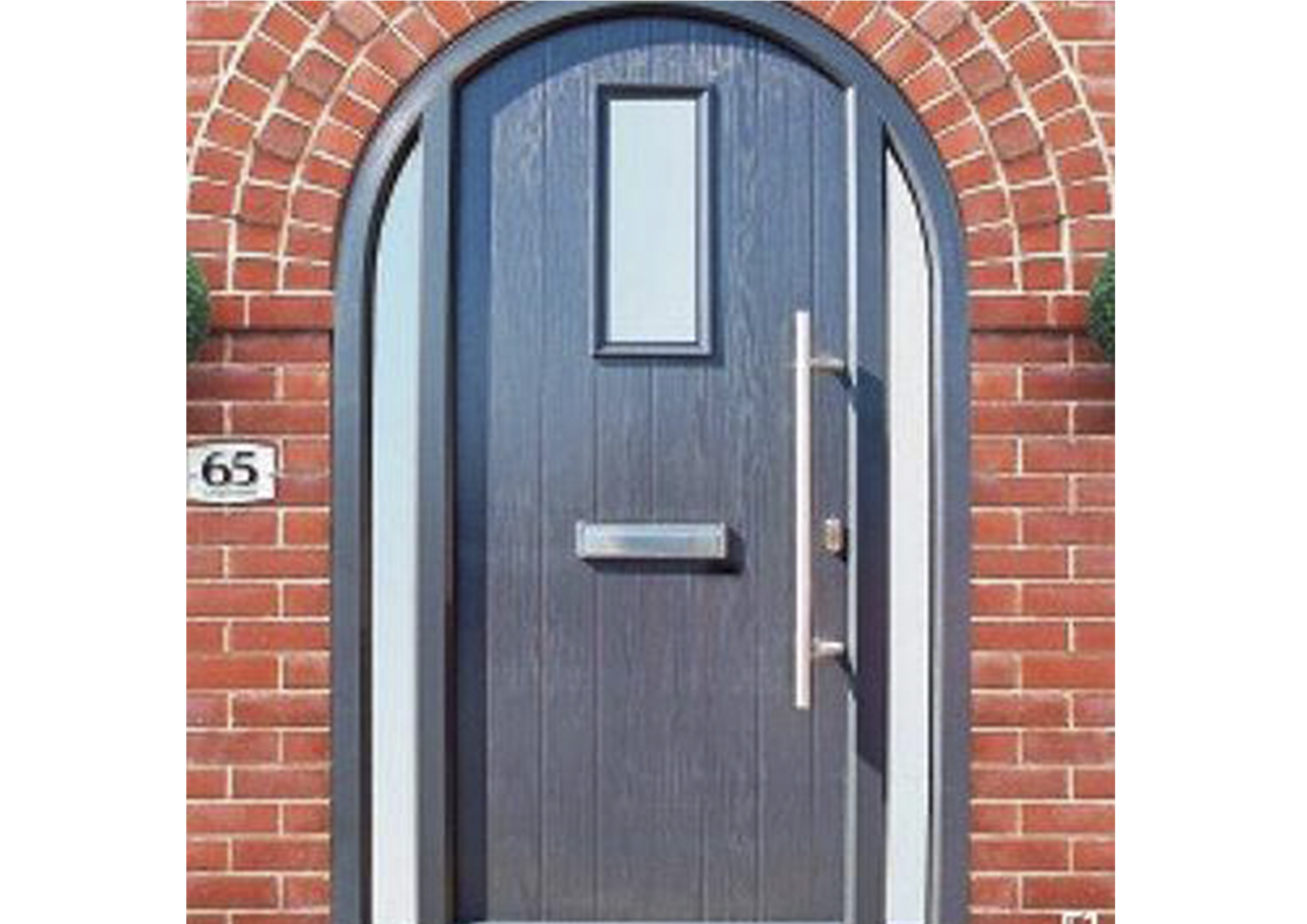 Arched Composite Doors exclusive to Force 8