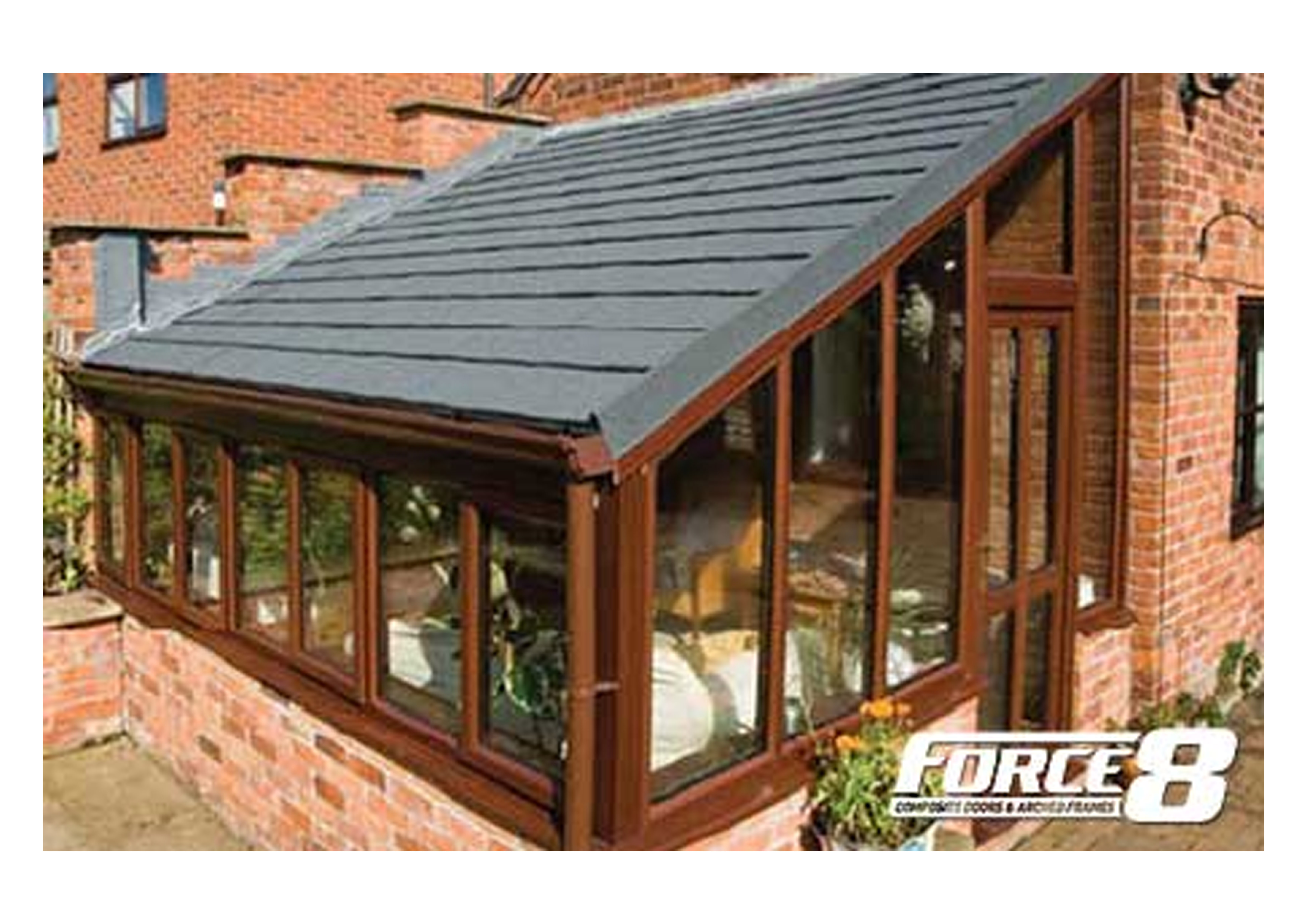 Solid Roofs and Glass Roofs