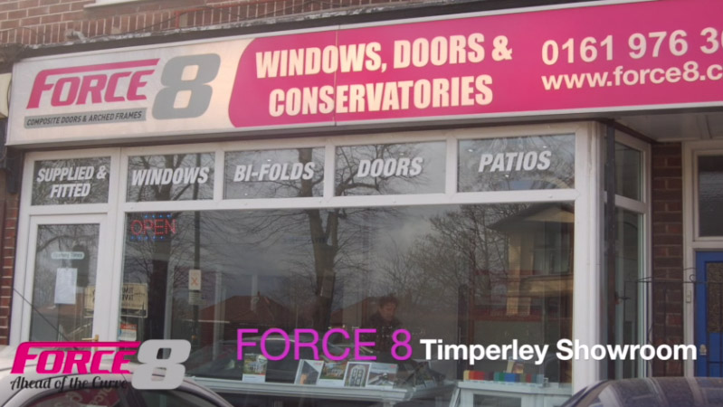 The Force 8 showroom in Timperley