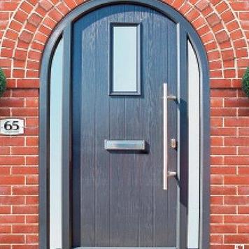 Unique Arched Composite Doors Set To Enhance Your Home