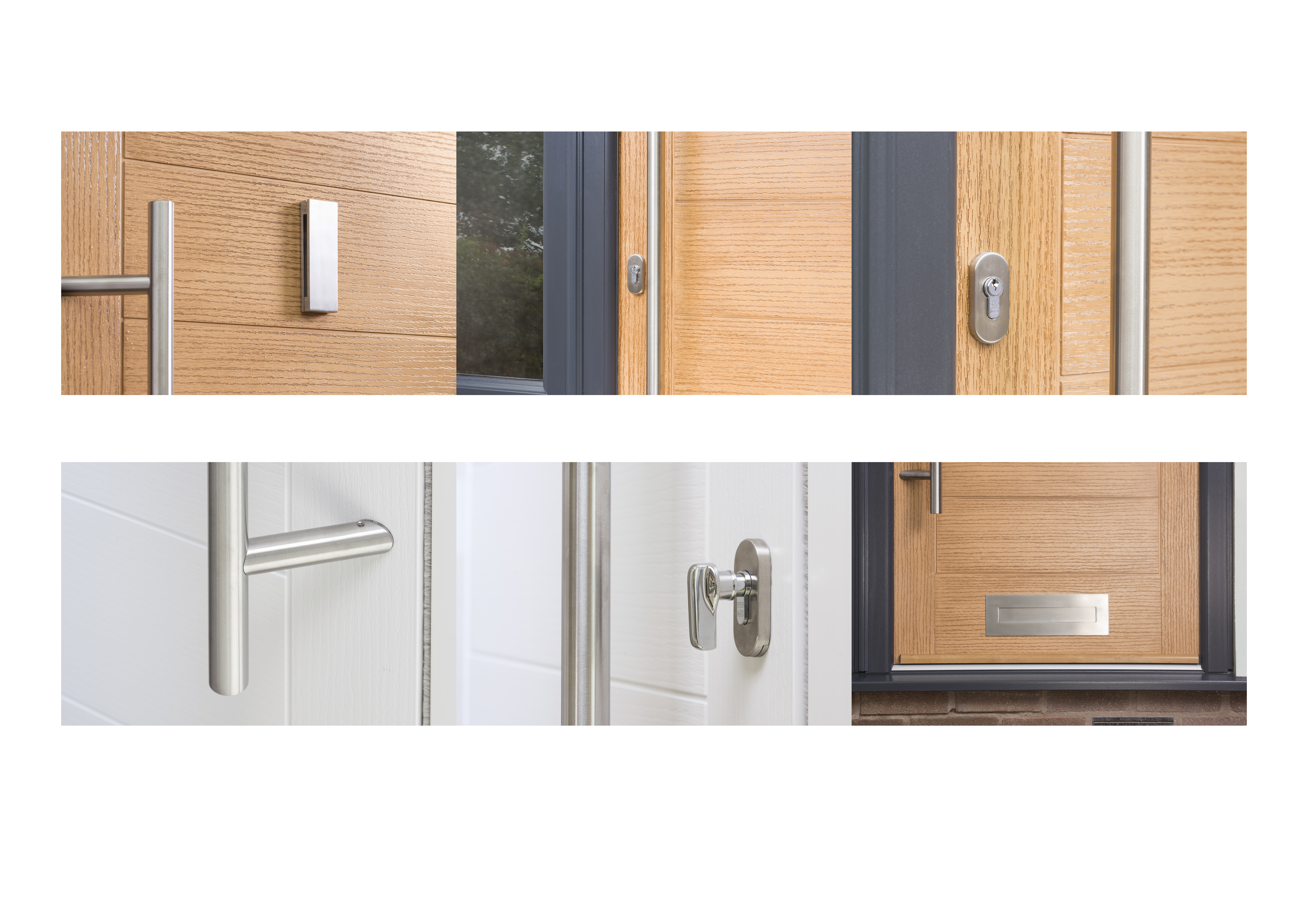 Stainless steel making a difference to our composite doors
