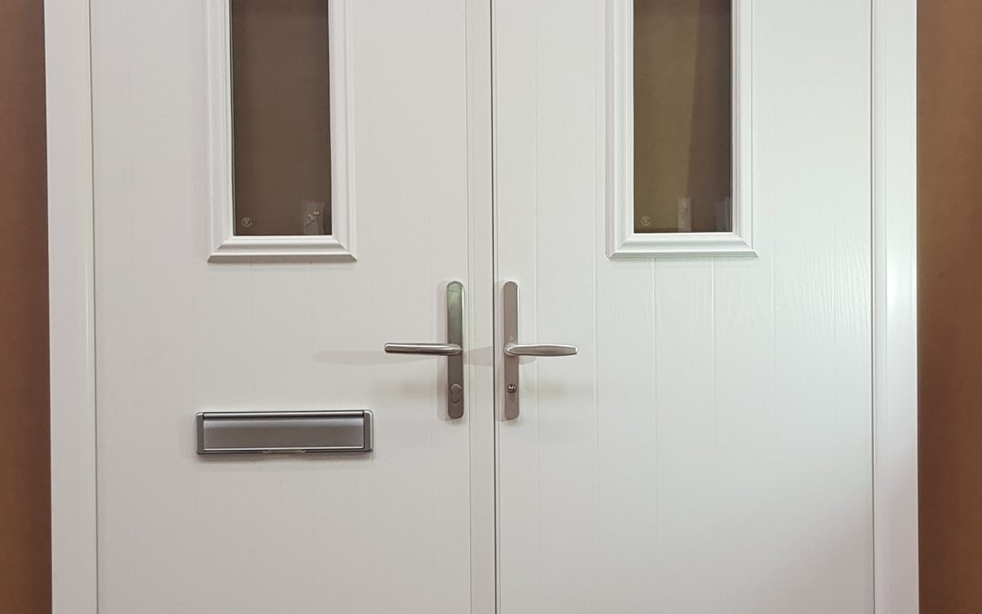 Arched Composite French Doors