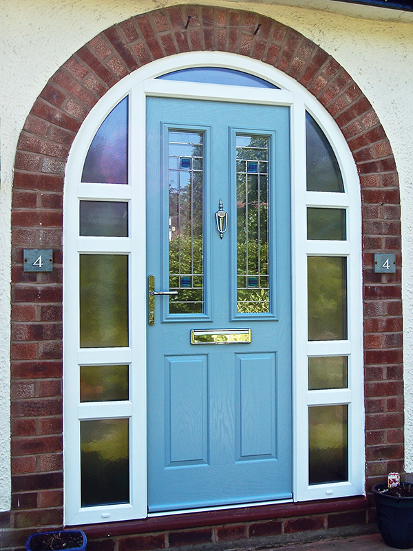 Unusual Style Arched Composite Doors From Force 8
